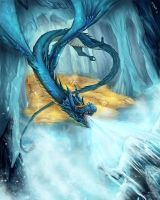 Frost Dragon by kevywk