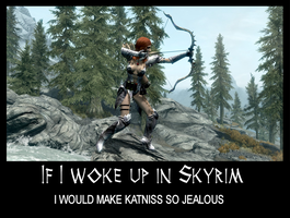 If I woke up in Skyrim 22 by Cinn-Ransome