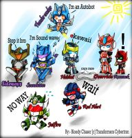 TF Cybetron Chibi Style by BloodyChaser