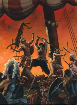 Conan-Pirate Isles by ChrisQuilliams