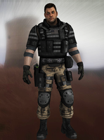 F.E.A.R. 2  - Michael Becket by Mageflower