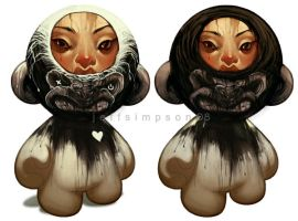 Munny Design Ideas - Tumours by jeffsimpsonkh