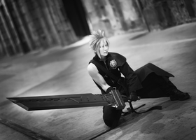 Cloud Strife -Advent Children ver.- by Sandman-AC