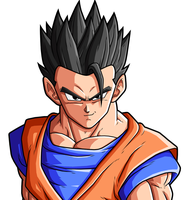 Mystic    Gohan by drozdoo
