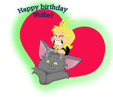 Happy Birthday Wolfie by Pearbear31