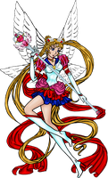 Sailor Moon Supreme Form by enkeli19