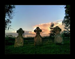 Headstones and Hailstones by Bogbrush