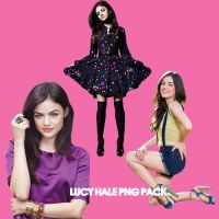 Lucy Hale 3 Png Pack by jessypoobear