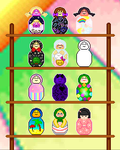 Pixel Wooden Doll Project .. CLOSED! by SazLeigh