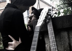 The Beatles Cosplay to fionafu by Murdoc-lein