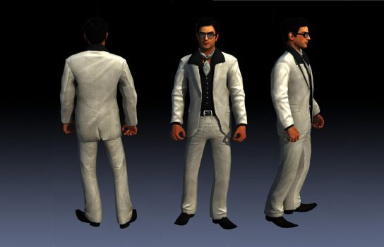 Vito Scaletta Suit 3 From DLC Vegas Skin For SA by Elpadrino1935
