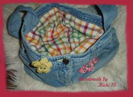 Jeans Tasche - Recycling by Kichi75