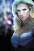January Jones as Emma Frost by icequeen654123