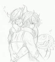 Strong Hugs by KowaiSenpai