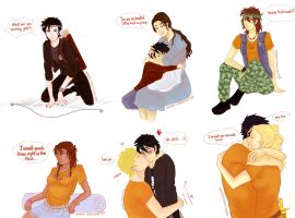 Percy jackson friends by Sophia-lionheart