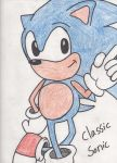 Classic Sonic by ifreakinglovegames