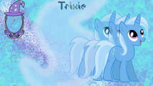 The great and powerful  Trixe wallpaper by NightSilverChelly