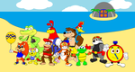 Diddy Kong Racing The Heroes by DarkDiddyKong