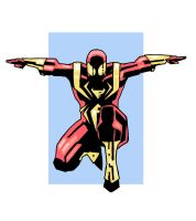 IRON SPIDER by future-parker