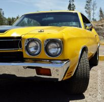 Chevrolet chevelle 1970 by abomontage