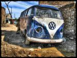 VW Bus HDR by evrengunturkun