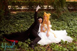 Serenity and Tuxedo Mask by emeilian