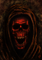The mask of the red Death by leseraphin