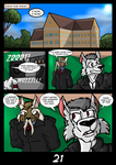 The Cats 9 Lives 6 - The Island of Dr. Morrow Pg21 by GearGades