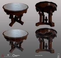 Halloween Marble Table - PSHome by Denuvyer