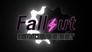 Fallout: Equestria Logo 3D - WIP 3 by Lightning5trike