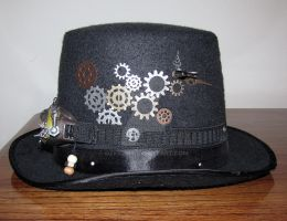 Steampunk Top Hat Right by OzKid96