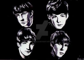 The Beatles by loolule