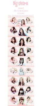 [Big Share!] SNSD FB Timeline Cover - by.2ndpow by nananahathai