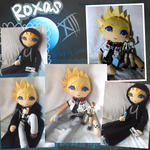Roxas doll and figure with seasalt ice cream by Mikage-YoshinoAnerin