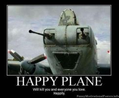 Happy Plane by jay4gamers1
