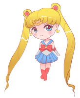 Chibi Sailor Moon! by littlemiss-princess