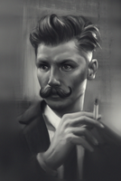 male face practice by buralbrah