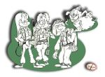 Goofy Ghostbusting by Granitoons