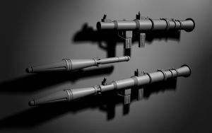 RPG-7, Russian anti-tank by TonyVallad