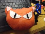 Mini Kyo Pillow by PuzzlesTheCat