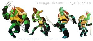 Teenage Mutant Ninja Turtles by splendidriver