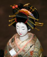 Asian Festival 2 Oiran Doll by Falln-Stock