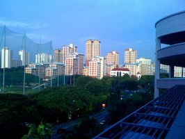 Bishan Estate Skyline by ahmad0410
