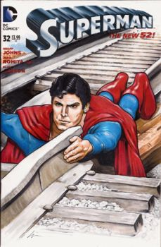 Super Train Christopher Reeve by linworkman