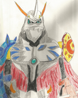 The Master Of Them All Omnimon by digitalpoke2386