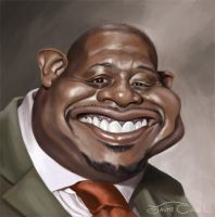 FOREST WHITAKER by JaumeCullell