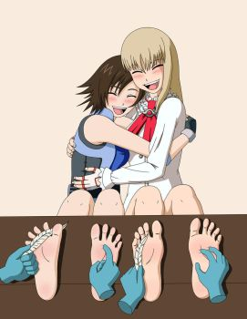 Asuka and Lili Tickled by no-pornography