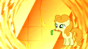 Filly Carrot Top Wallpaper by Game-BeatX14