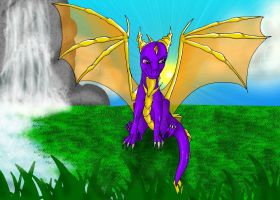 AT: Spyro by xX-Starduster-Xx