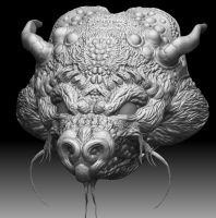 Update to dragon head by Thordwolf